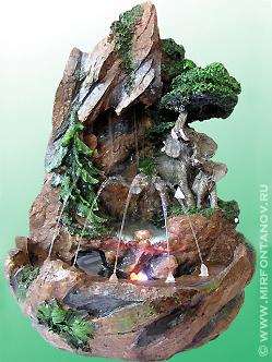 Комнатный фонтан водопад