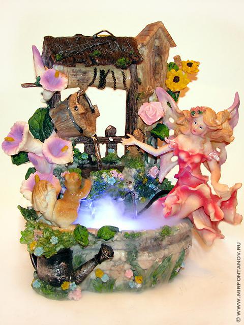 Настенный водопад фантазия