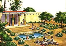 Сад в Древнем Египте