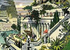 История фонтанов - Висячие сады Семирамиды