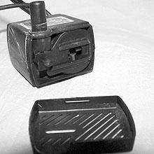 Чистка моторчика фонтана